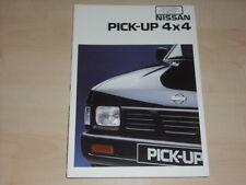 41827) Nissan Pick up 4x4 Prospekt 10/1994