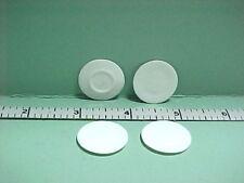 Dollhouse Miniature Lunch Plate(4) Mediium Porcelain #A2527M Falcon 1/12th Scale
