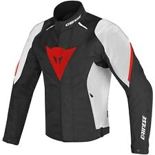 Chaqueta, Jacket Dainese Laguna Seca D1 D-Dry Black-White-Red T.52