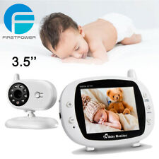 Firstpower 3.5'' Baby Monitor Camera Night Vision Audio Temperature Monitoring