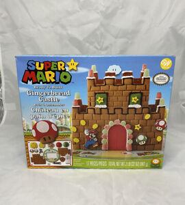 Wilton Super Mario Nintendo Gingerbread Castle Decorating Kit