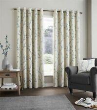 Rideaux et cantonnières verts en polyester pour la maison