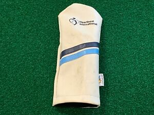 SunFish Sales HEARTBEAT INTERNATIONAL DRIVER HEADCOVER White Striped Head Cover