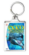 ECCO THE DOLPHIN DEFENDER OF THE FUTURE SEGA DREAMCAST KEYRING LLAVERO