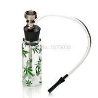 NEW HOT Portable Lovely colors bottle mini hookah pipe shisha tobacco weed
