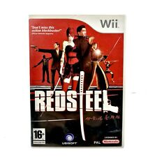 Red Steel Video Action Game Nintendo Wii & Wii U Mint Condition Complete Free pp
