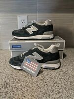 New Balance J Crew X 1400 Collab M1400NV Navy Silver Made In USA Mens size 12.5