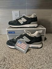 New Balance J Crew X 1400 Collab M1400NV Navy Silver Made In USA Mens size 6