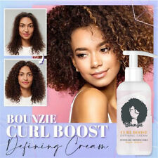 Bounzie Curl Boost Defining Cream Hair Care Elastin Organic Coconut Oil Repaire