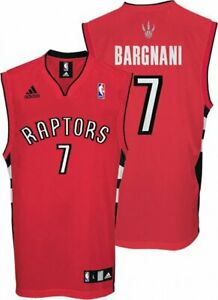 Adidas NBA Men's Toronto Raptors Andrea Bargnani #7 Player Jersey, Red