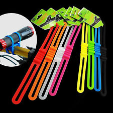 8 pcs Cycling Bicycle Bike Silicone Band Tie Phone Strap Mount Holder US Stock