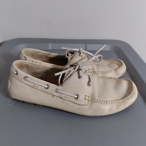 Cole Haan Men's Size 8 Boat Shoes Beige Performance Comfort Loafers