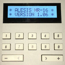 ALESIS HR-16 HR-16B & MMT-8 LCD DISPLAY - REPLACEMENT SCREEN - LIGHT BLUE