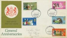 GB 1970, General Anniversaries on very fine FDC with FDI PLYMOUTH, DEVON