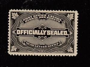 CANADA # OX4 VF-MLH OFFICIALLY SEALED CAT VALUE $200 (SAB66F)