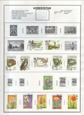 Uzbekistan On Harris Album Pages 1992-2006