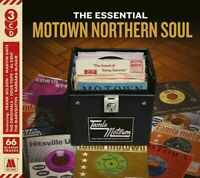 THE ESSENTIAL - MOTOWN NORTHERN SOUL - 3CD 60's + 70's - NEW CD SEALED