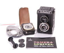 LOMO LUBITEL 1 Vintage TLR Camera CLA WARRANTY MANUAL EXC