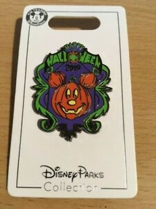 DS - Mickey Mouse Jack-O'-Lantern 2019 - Halloween Pin 136070