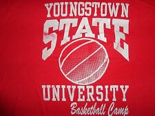 RARE Red Youngstown State Penguins True Vintage NIKE USA NCAA T-Shirt Fits Men M
