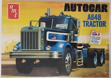 AMT1099 Autocar A64B Tractor 1/25 Scale Plastic Scale Model Kit