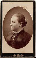 CDV photo Damenportrait - Cassel Kassel 1880er