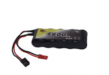 Savage HPI 6v Flat 1600mAh Receiver Battery Pack Twin Lead Vapextech
