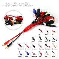 19 in 1 RC Lipo Battery Multi-function Charging Lead Adapter Cable Wire 19 Plugs