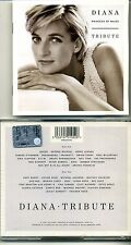 DIANA Princess of Wales TRIBUTE 1997  2CDs Queen George Michael Sinead Pavarotti