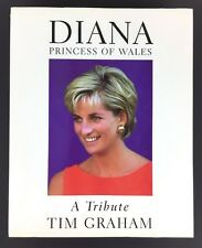 Diana Princess of Wales book A Tribute by Tim Graham 1997 Hardcover Many Photos