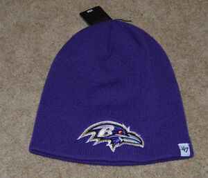'47 Brand Baltimore Ravens Knit Beanie - Youth One Size