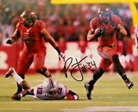 RUTGERS FOOTBALL PAUL JAMES #34 SIGNED AUTOGRAPHED PHOTO BALTIMORE RAVENS ACTION