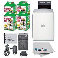 Fujifilm Instax Share Smartphone Printer SP-1 Silver + 80 Films Great Value Kit!