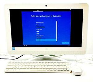 "HP 20-C023W ALL-IN-ONE 19"" Desktop PC 4GB RAM Intel Celeron Windows 10 Home 64-B"