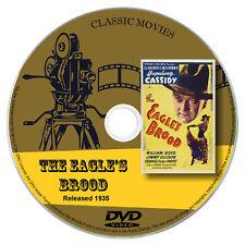 The Eagles Brood 1935 - William Boyd, James Ellison - Western, Film Noir DVD