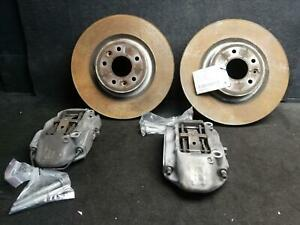 RENAULT MEGANE BFB,RS GEN4,PAIR OF FRONT BREMBO CALIPERS & ROTORS 07/18 19 20 21