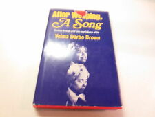 After Weeping a Song working through grief by Velma Darbo Brown vintage 1980 hb
