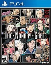 The Nonary Games [PlayStation 4 PS4, 999 & Zero Escape VLR HD Collection] NEW