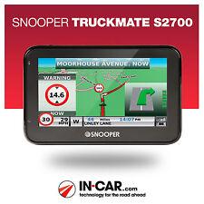 Snooper Truckmate S2700 Truck GPS Sat Nav HGV Lifetime UK & EU Map Updates
