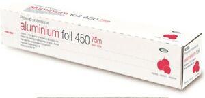 Prowrap Professional Aluminium Catering Foil 450mm  x 75m Food Cover, Hygiene