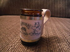 """UNIQUE FLORIDA Shot Glass w/ Handle 2.5"""" Tall - Great condition!"""