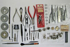 Vintage Lot TOOLS - Some Wristwatch  -  Some Pocket Watch - Some Parts of Tools