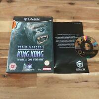 Peter Jackson's King Kong The Official Game Nintendo Gamecube UK PAL