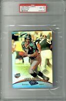 1998 Finest Jumbos #1 John Elway Refractor PSA 8 POP 3 Denver Broncos