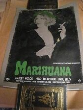 """""""MARIHUANA"""" By Timothy Pittides Variant x/35 (18x24)"""