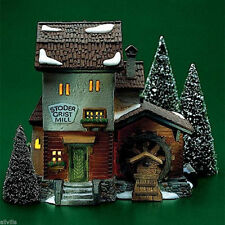 Stoder Grist Mill #59536 Retired Dept 56 Alpine Village