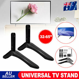 TV Bracket Universal Stand Leg Mount Table Top LED LCD Flat for 32''-65'' Screen