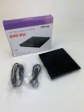 iStrong USB 3.0 Portable Mobile External DVD-RW CD Reader Writer ROM Black B5