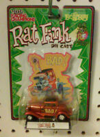 NEW - RAT FINK DIE CAST - NO. 76001 - MADE IN 2000 - ED BIG DADDY ROTH - 1/64