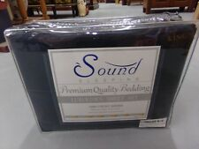 Sound Sleeping Charcoal Gray Luxurious 1800 Count Series King Sheet Set New